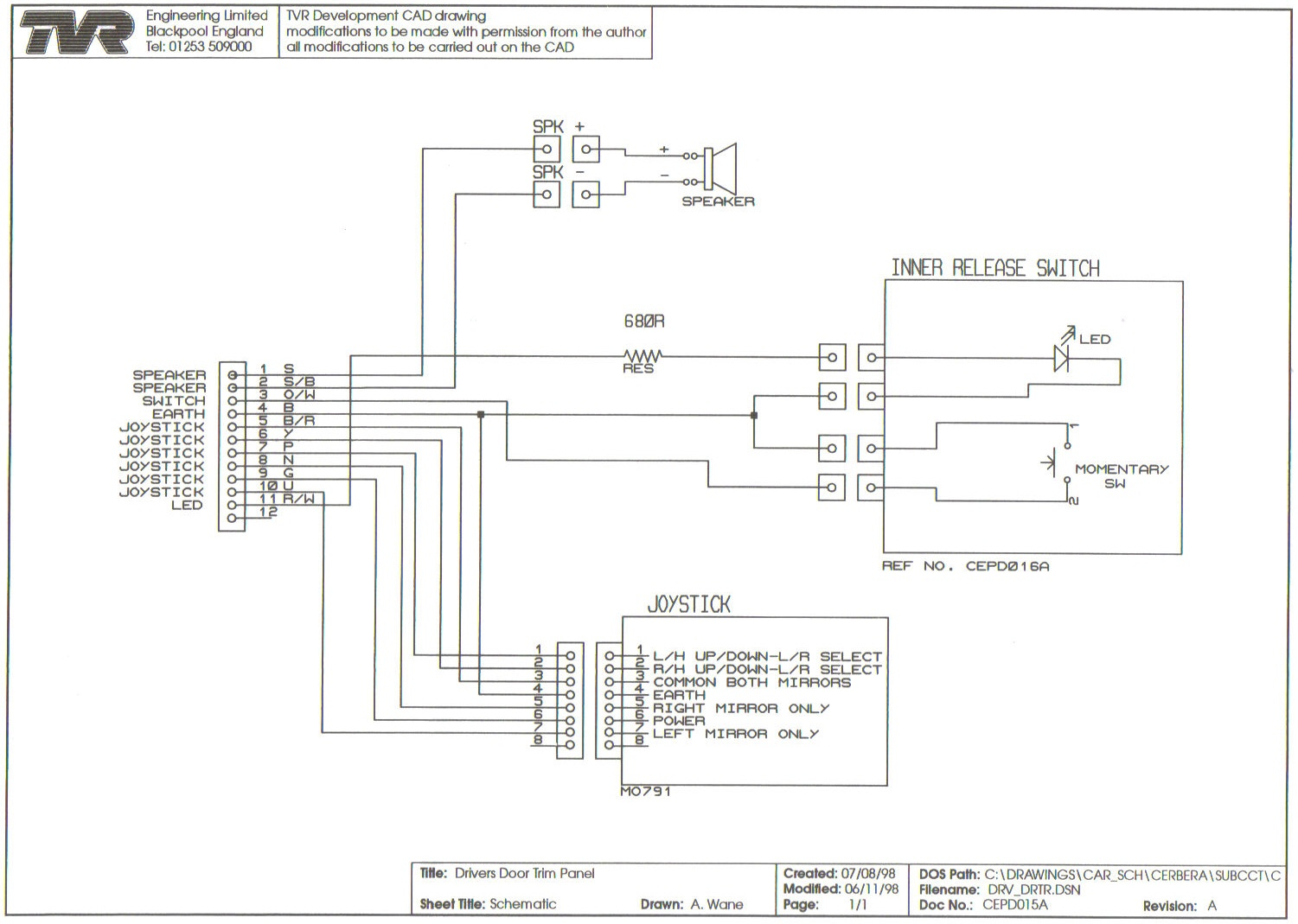 drivers door cepd015a wiring diagrams skoda fabia power steering wiring diagram at creativeand.co